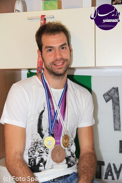 دراگان تراویکا،پاسور تیم ملی والیبال ایتالیا