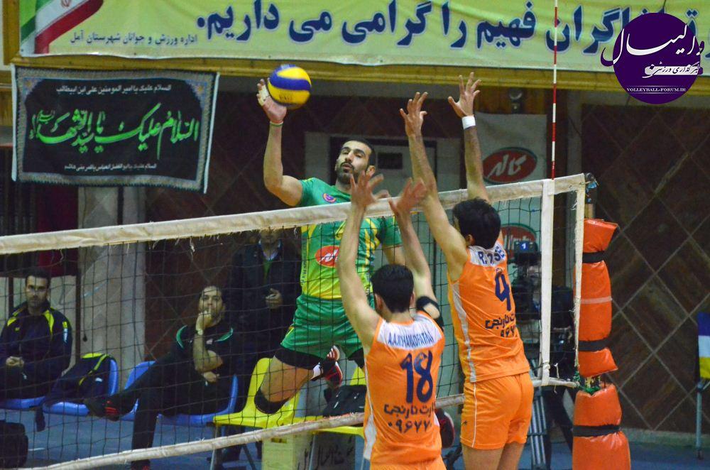 گزارش تصویری از دیدار کاله مازندران - سایپای البرز !