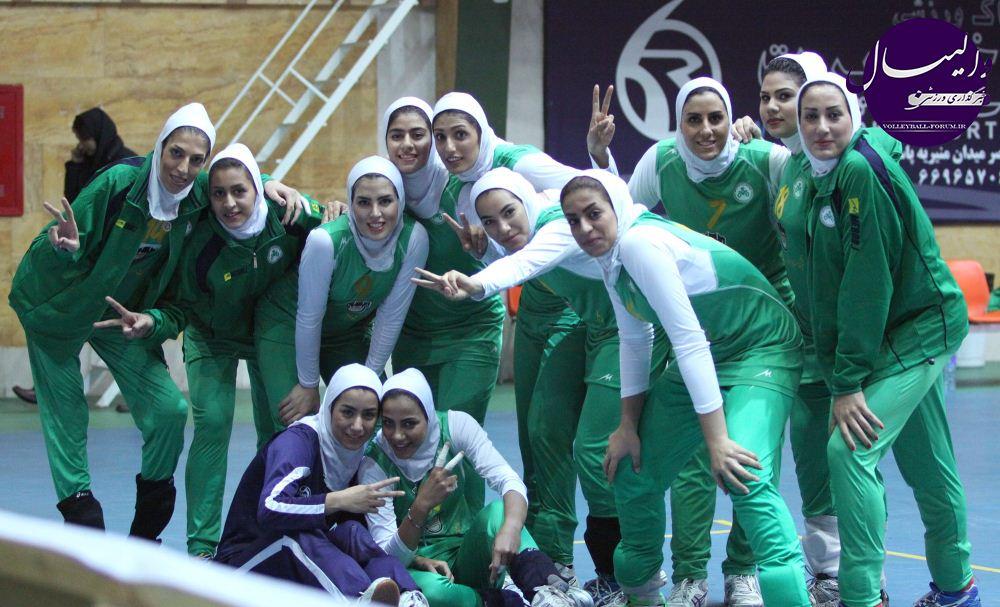 والیبال قهرمانی زنان باشگاه های آسیا ، متین فردا شب عازم تایلندمی شود !