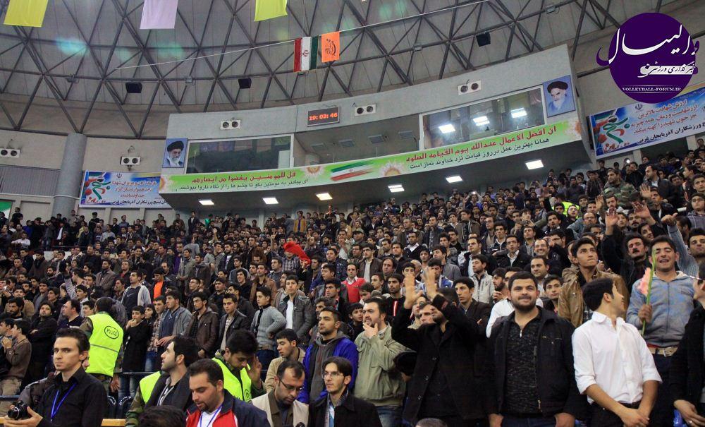 تشکر سازمان لیگ از تماشاگران ارومیه !