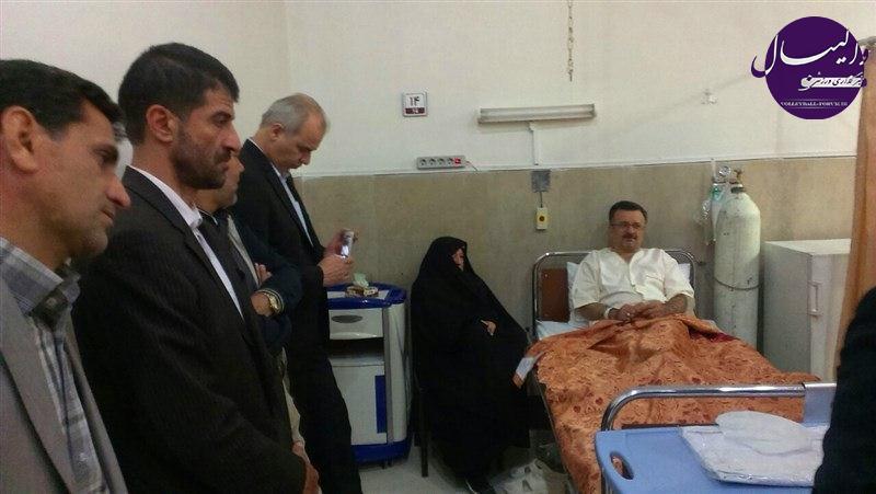 محمدرضا داورزنی ، رییس فدراسیون والیبال ،  زیر تیغ عمل جراحی می رود !