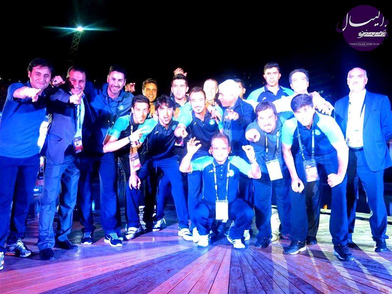ضیافت و افتتاحیه جام قهرمانی باشگاه های مردان آسیا برگزار شد !