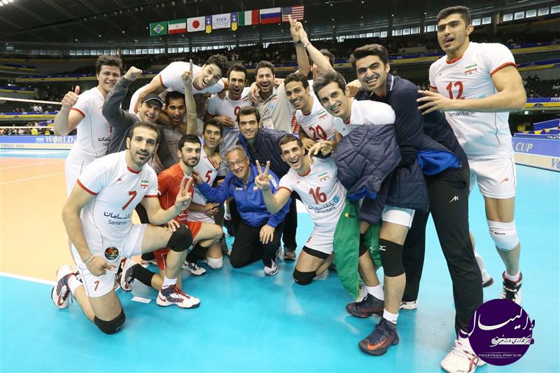 تقویم مسابقات تیم های ملی والیبال ایران در سال 1393 - 2014 (اصلاحیه) !