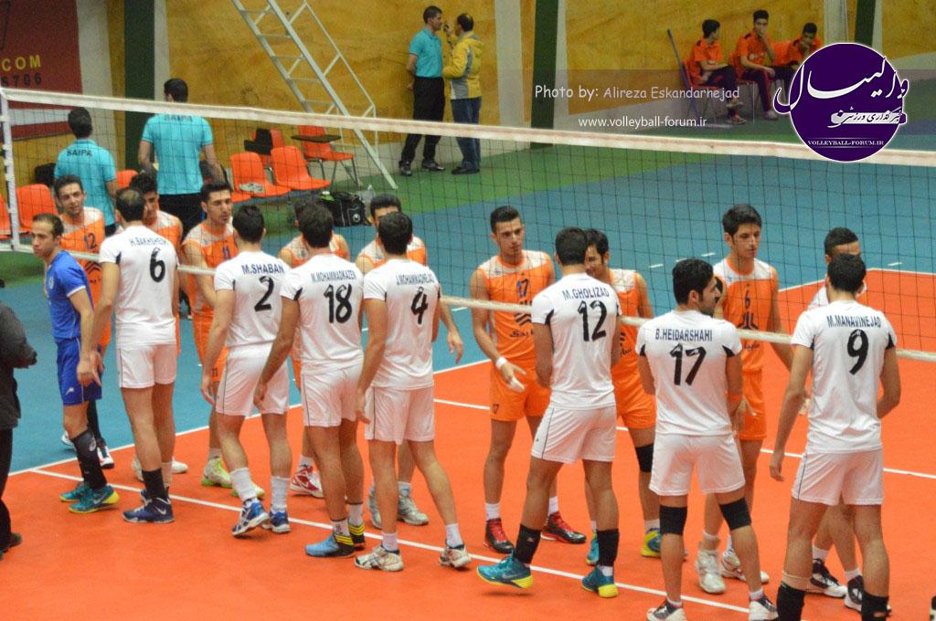 اختصاصی خبرگزاری والیبال / گزارش تصویری دیدار پیکان تهران و سایپا البرز..! / سری دوم